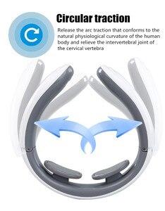 Image 5 - Masseur électrique pour dos et cou, thérapie magnétique à impulsions cervicales, chauffage à infrarouge lointain, soulagement de la douleur, Relaxation, soins de santé