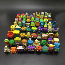 50Pcs/set Popular Cartoon Anime Action Figures Toys Soft Garbage The Grossery Gang Model Toy Dolls Children Christmas Gift