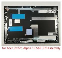 El marco incluye la pantalla LCD original de 12 pulgadas para el digitalizador LCD del montaje de Acer Switch Alpha 12 SA5-271, pantalla táctil reemplazable