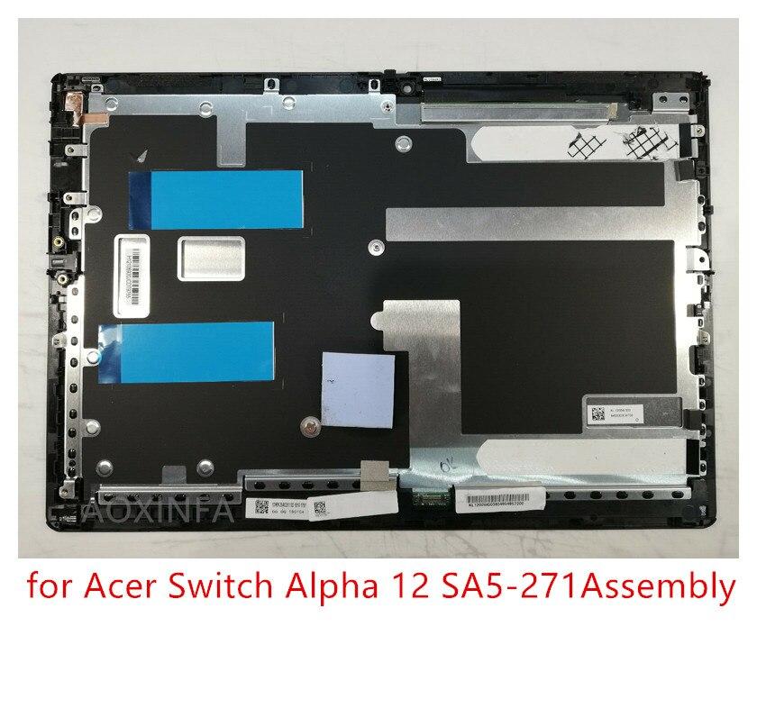 Le cadre comprend un écran LCD d'origine de 12 pouces pour Acer Switch Alpha 12 SA5-271, un numériseur LCD remplaçable
