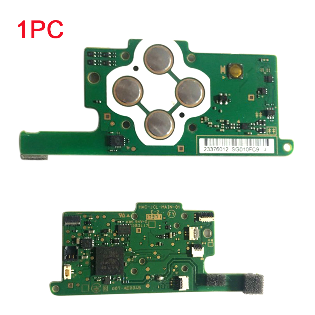 Easy Install Green Repair Tool Game Console PCB Motherboard Left Controller Module Parts Main Board Replacement For NS Joy-con