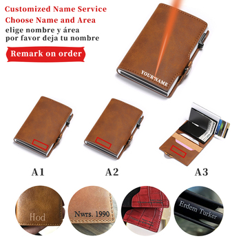 Men's Leather Engraving Name Wallet Ultra-thin Short Money Bag Short Leather Small Retro Custom Wallets Male Card Holder Wallet недорого