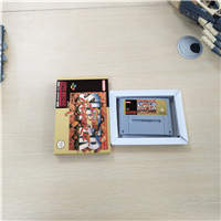 Super Street Game Fighter II 2   EUR Version Action Game Card with Retail Box