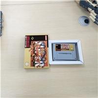Super Street Game Fighter II wersja 2   EUR karta gry akcji z opakowanie detaliczne