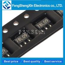 100pcs/lot New 78L09 SOT89 7809 9V Voltage regulator triode 100pcs 78l09 sot89 new and original free shipping