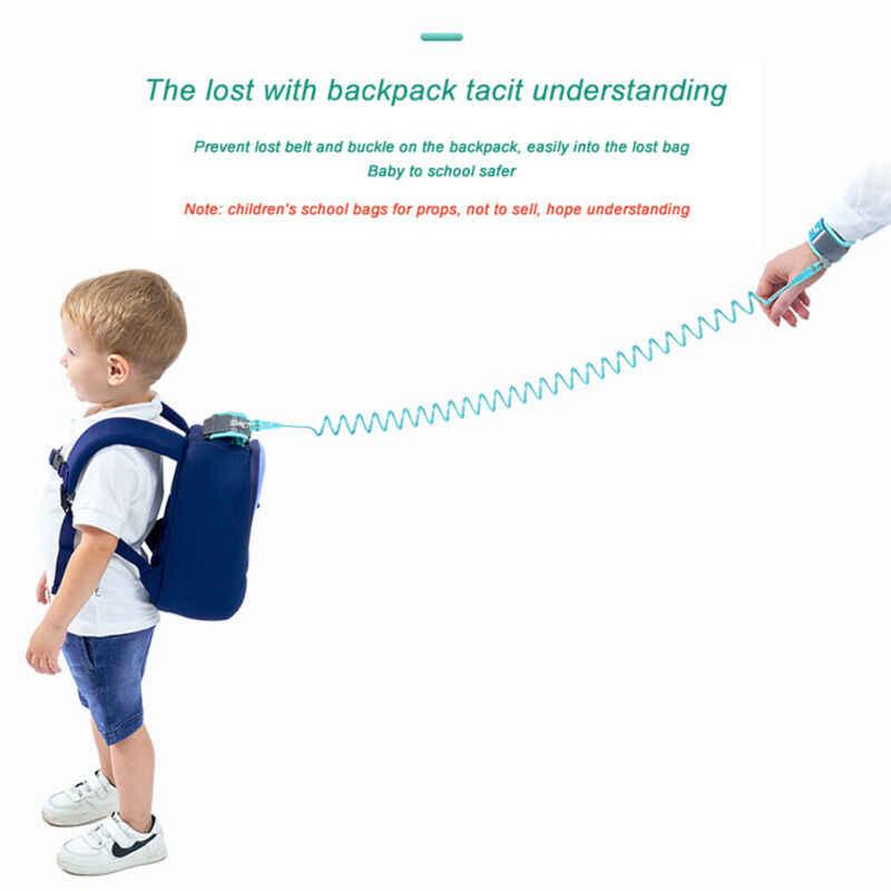 Dziecięce szelki bezpieczeństwa smycz chroniący przed zgubieniem pasek na rękę Link rozwijana smycz dla dziecka maluch dzieci Outdodr Walking regulowany pasek
