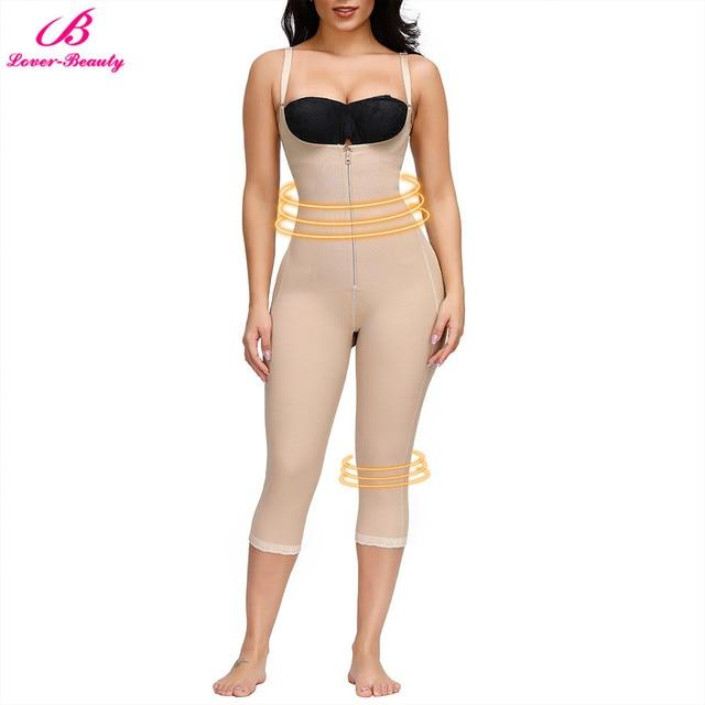 Lover-Beauty Women Full Body Shapewear Butt Lifter Panties Tummy Control Shaper Long Leg Seamless Slimming Underwear 1