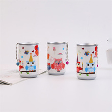Storage Tank Cute Creative 30 Pumping Cans Cartoon Cleaning Moisturizing Wipes Travel Portable