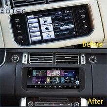 Aotsr reproductor de dvd del coche de navegación gps para Land Rover Range Rover SVA LWB (L405) 2012 ~ 2018 para MudRunner estéreo unidad principal Monitor ds