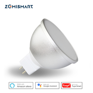 Image 1 - Gu5.3 LED הנורה MR16 12V WiFi Alexa Google בית עוזר Tuya חכם חיים APP שלט RGBCW LED אור דימר מנורה