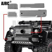 Roestvrij Stalen Grille Intake Grille Cover voor 1/10 TRAXXAS TRX-6 AMG 88096-4 G63 TRX-4 G500 RC Crawler auto Accessoires(China)