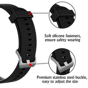Image 3 - Мягкий силиконовый сменный ремешок для Garmin Vivoactive3 Vivomove HR смарт браслет для Garmin Vivoactive 3 музыкальный браслет