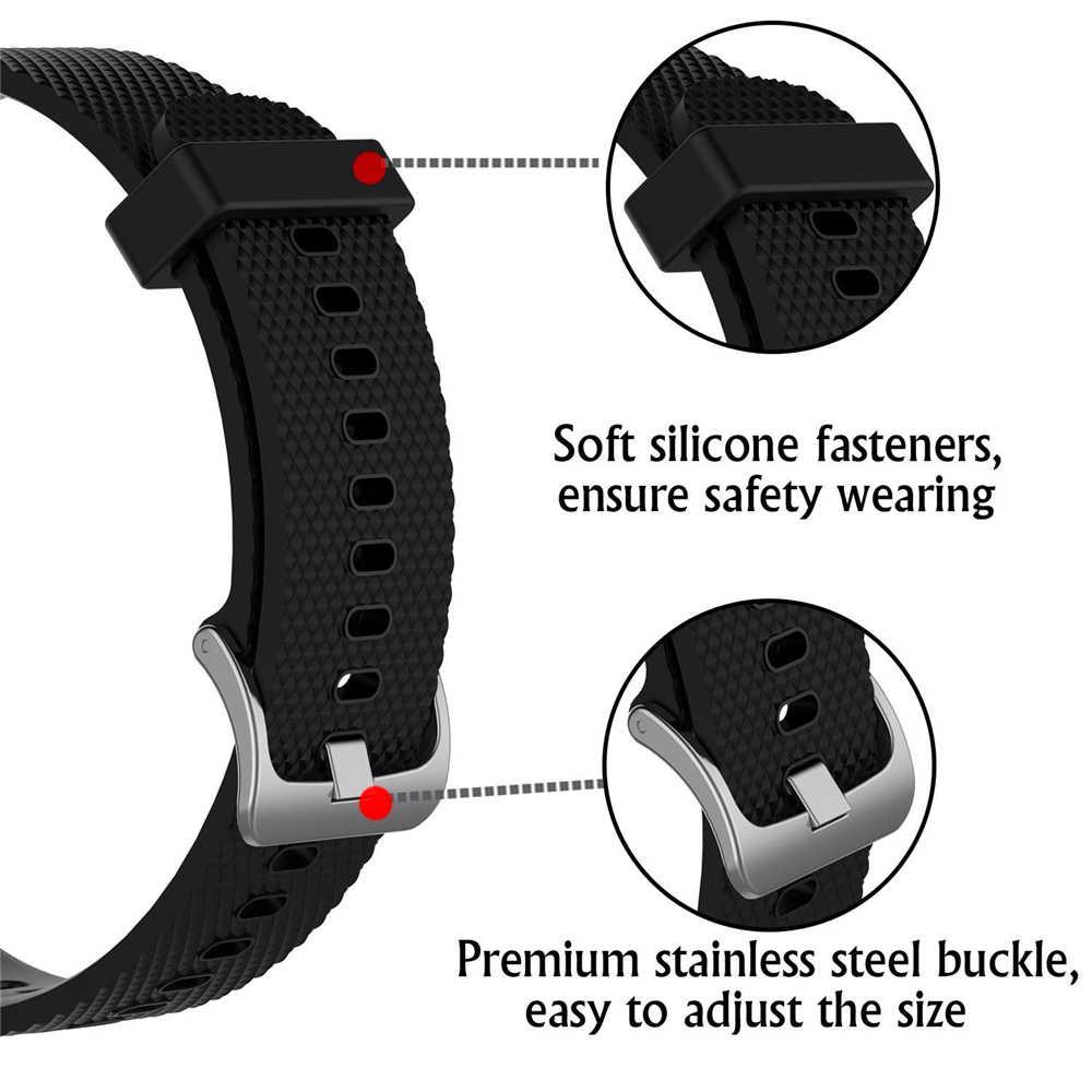 لينة سيليكون استبدال حزام للغارمين Vivoactive3 Vivomove HR الذكية معصمه للغارمين Vivoactive 3 الموسيقى حزام سوار