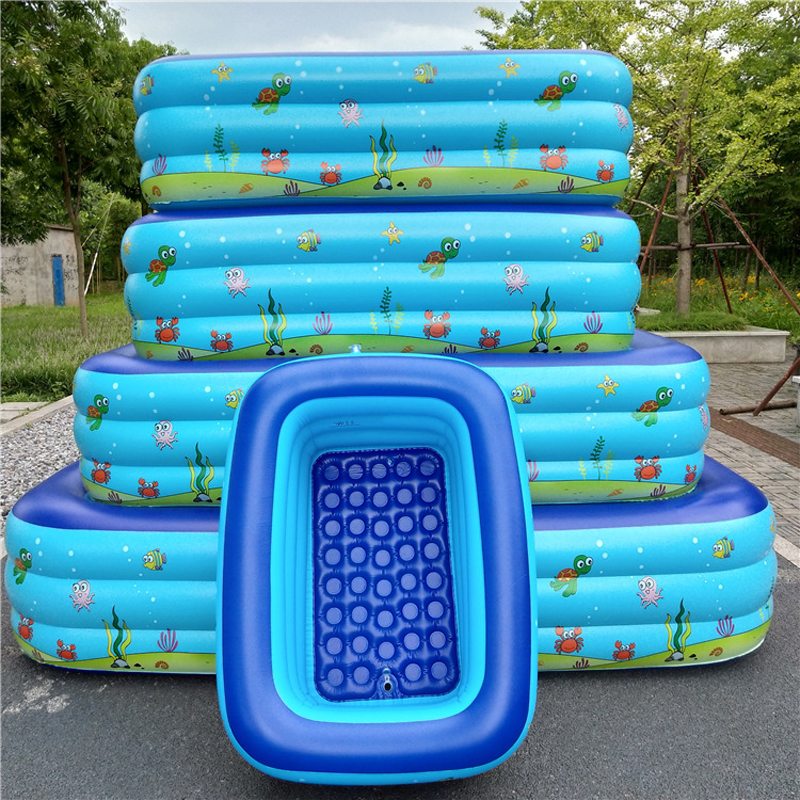 Baby Inflatable Swimming Pool Children Basin Bath Tub Piscina Portable Outdoor Ball Paddling Pool Kid Water Play Home Beach Game