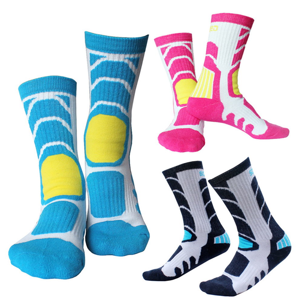 1 Pair  Professional Sports Outdoor Socks Breathable Sweat Comfort Children Quick-drying Climbing Gym Fitness Riding Socks