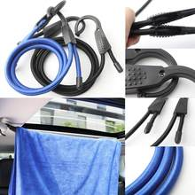 Hot New Car Adjustable Elastic Bungee Shock Cord Strap Stretch Plastic Hook Car Luggage Tent Kayak Boat Canoe Bikes Rope Tie(China)