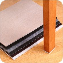 Купить с кэшбэком 30 x 21 cm thick 5mm sofa and chairs foot slip stickers DIY cut muffler slip protective floor mats Furniture Accessories