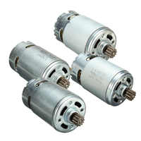 12/14.4/18V 12 Teeths Electric Gear DC Motor for Cordless Drill Screwdriver maintenance spare parts