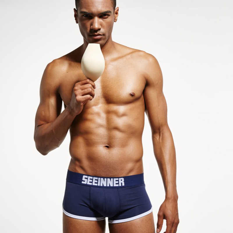 Sexy Männer Unterwäsche Hip-up Gesäß Heber Männer der Verbesserung Padded Stamm Shorts Homosexuell penis Boxer Push-Up boxershorts männlichen Höschen