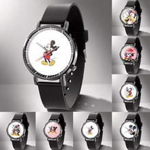 Disney Mickey Mouse Quartz Wristwatch Mickey Mouse Wristwatch Cartoon Quartz Watch