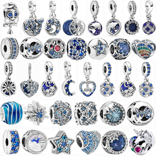 Best Top Blue Flower Pandora Charms Brands And Get Free Shipping A618