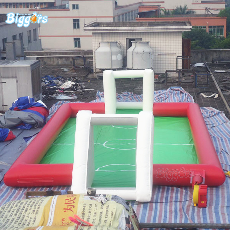 YARD High Quality Inflatable Football Field Soccer Interactive Game For Sale