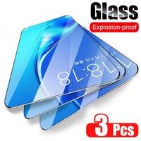 3Pcs Screen Protector Für Samsung Galaxy A7 2018 A6 A8 J4 J6 Plus 2018 Gehärtetem Glas Für Samsung A3 a5 A7 J3 J5 J7 2017 glas