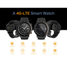"A4 hombres/mujeres Android 7,1 Smartwatch 1 + 1 + 16GB Dual 4G 1,39 ""WIFI GPS SIM IP67 impermeable con cámara inteligente reloj salud(China)"