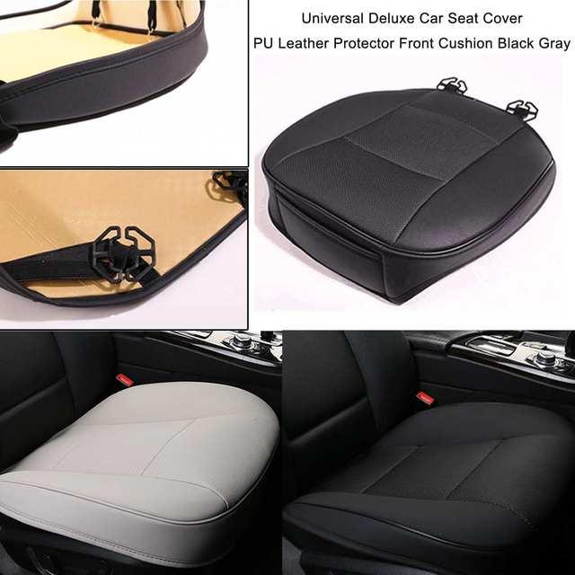 Xe ô tô Bọc Ghế Trước Miếng Lót BẰNG Da PU ghế Thảm Đệm Ghế Xe Hơi Ô Tô trang trí nội thất bảo vệ ghế xe ô tô Bìa Mềm