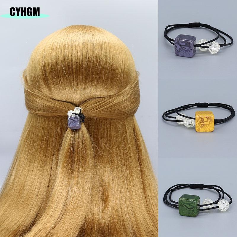 Girls Elastic Hair Bands Hair Ties Velvet Satin Scrunchie Pack Hair Accessories Cabello Women Gomas De Pelo Diadema Flores F05-3