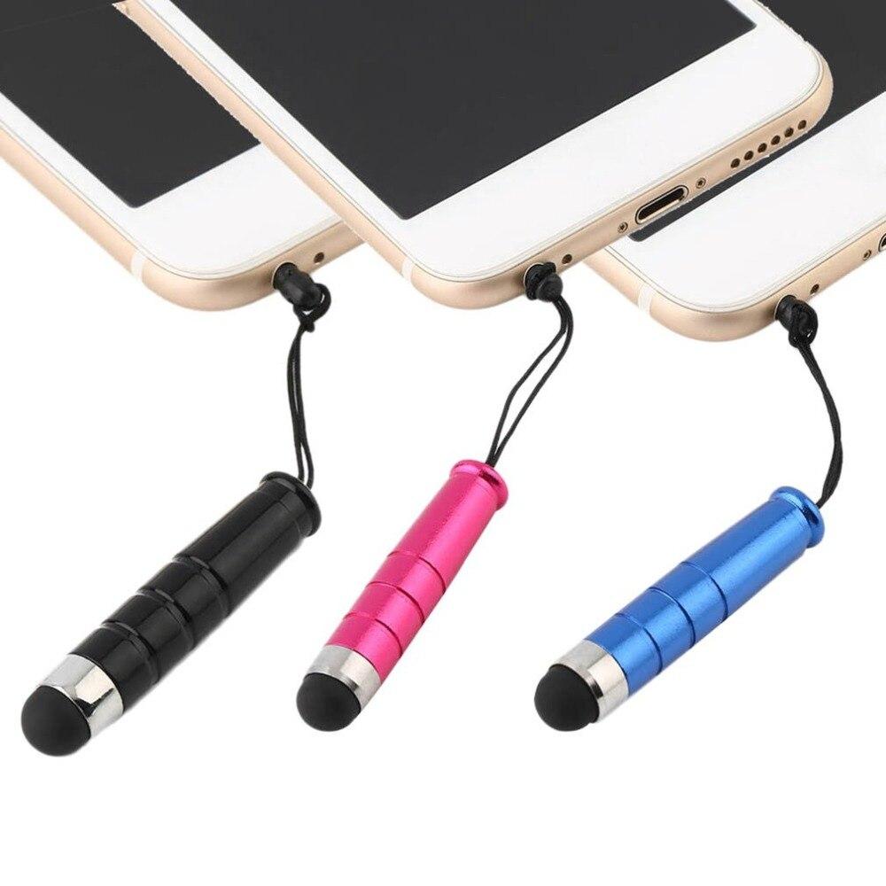 Черный Стилус для всех емкостных сенсорных экранов для iPad iPhone всех мобильных телефонов планшетов