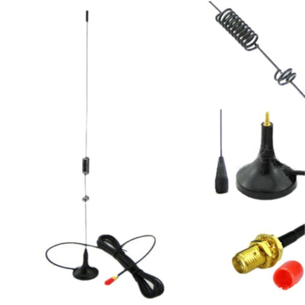 Female Magnetic Hf Vehicle-Mounted Antenna For Baofeng Uv5R 888S Uv82 A52 Two Way Radio Walkie Talkie Accessories