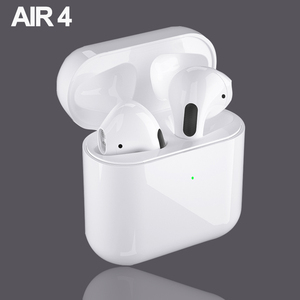 2020 New AIR 4 Bluetooth 5.0 Earphone Wireless Headphones TWS HD Call Mini earbuds Running in-ear Headset for iOS Android Phone