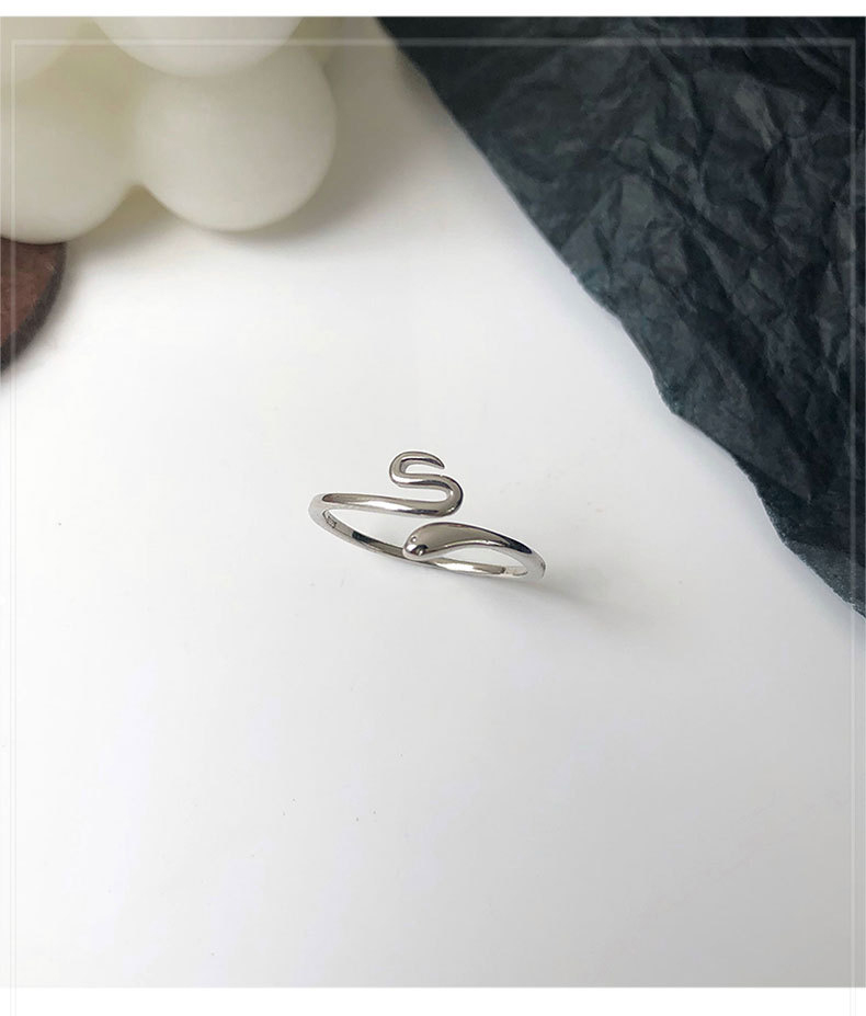 Leouerry 2020 новые открытые кольца из стерлингового серебра