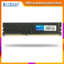 Pccooler 4gb 8gb 4g 8g memória ram memoria módulo computador desktop ddr3 pc3 1600mhz 12800 1600 8gbx2 = 16gb mhz
