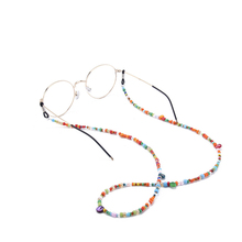 Colorful Beads Beaded Eyeglass Chains Sunglasses Reading Glasses Holder Retainer Neck Strap Cord