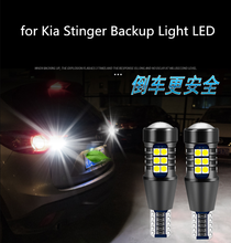for Kia stinger reversing light LED T15 16W white 2pcs headlight modification