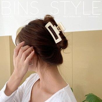 Big Barrette Crab Hair Claws Bath Hair Claw Ponytail Clip Large Hair Clamps Claw Clip Fashion Clip for Women
