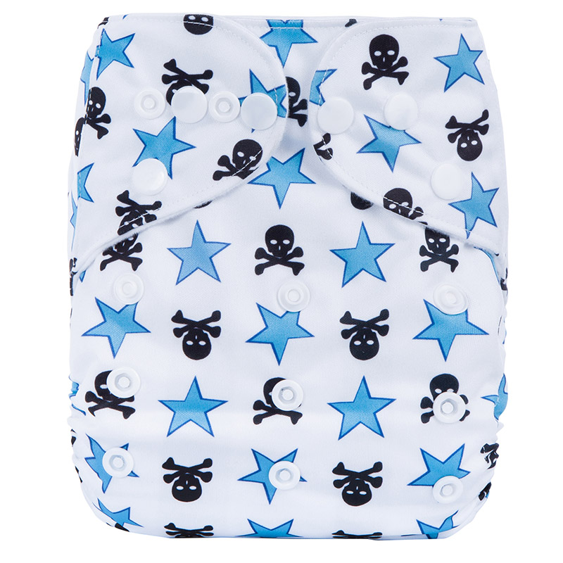 Pocket Cloth Diaper Reusable Organic All In One Baby Cloth Diaper Modern Cloth Nappies P27
