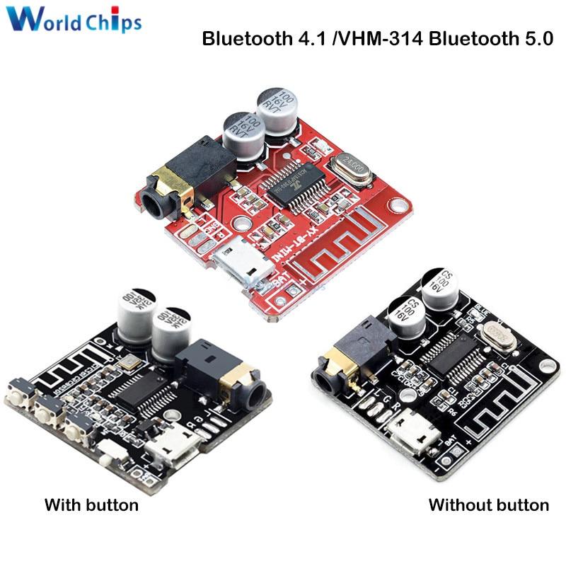 Bluetooth 5.0 4.1 VHM-314 Bluetooth Audio Receiver Board Mp3 Lossless Decoder Board Wireless Stereo Music Module For Car Speaker