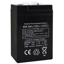Toy Storage-Battery Backup-6v4.5ah Rechargeable Children Accumulator Sealed Car Lead-Acid