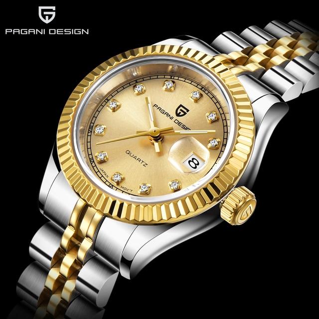 Pagani Ontwerp 2020 Nieuwe Top Brand Womens Horloges Fashion Casual Ladise Jurk Quartz Waterdicht Luxe Horloge Relogio Feminino + Box