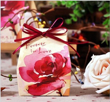 Boîte à bonbons pivoine 50 pièces boîte cadeau mariage FERRERO ROCHER boîte à bonbons