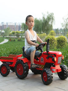Tractor-Suit Pedal Go-Karts Kids Children for 2-6ages Outdoor Ground-Force with Trailer