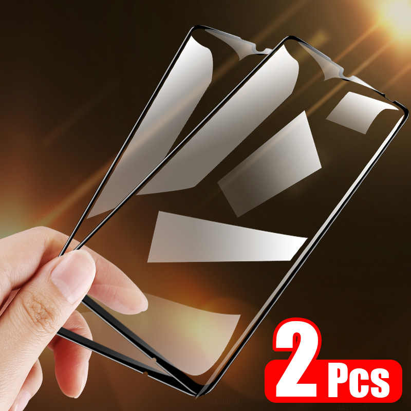ZNP 2 adet tam kapak temperli cam Xiaomi Redmi için not 8 7 5 Pro 7A 8A ekran koruyucu için redmi not 9 8 Pro 9S 5 artı cam