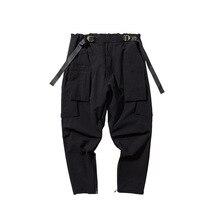 EWQ / men's wear 2020 spring summer cargo casual pants male'