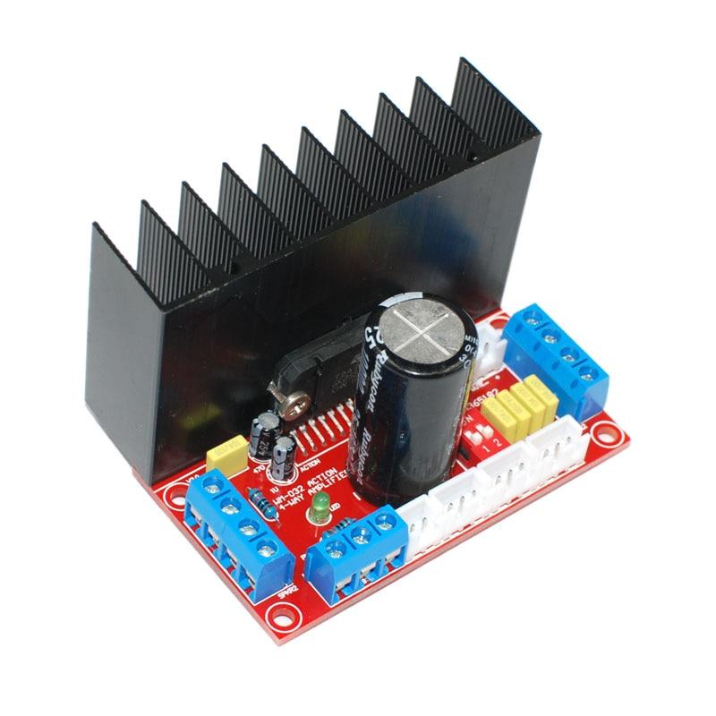Hifi Tda7850 4-Channels Home Amplifier Board Car Audio Amplifier Board 4X50W