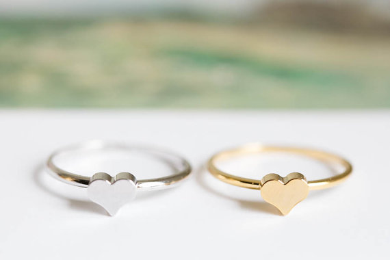 heart mid knuckle rings heart rings knuckle ring gold knuckle ring pinky rings