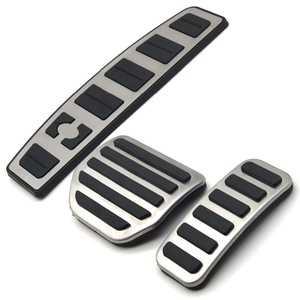 Автомобильные аксессуары для Land Range Rover Sport/Discovery 3 4 Lr3 Lr4 газовый ускоритель подставка для ног Модифицированная педаль наклейка