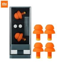 Xiaomi Jordan&Judy затычки для ушей для сна с шумоподавлением удобные многоразовые затычки для ушей с восстановлением ушей с фильтром шума